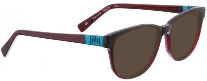 Bellinger BOUNCE-6-101 Sunglasses in Red/Black Pattern