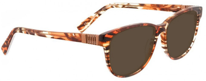 Bellinger BOUNCE-6-202 Sunglasses in Brown/Orange Tortoiseshell