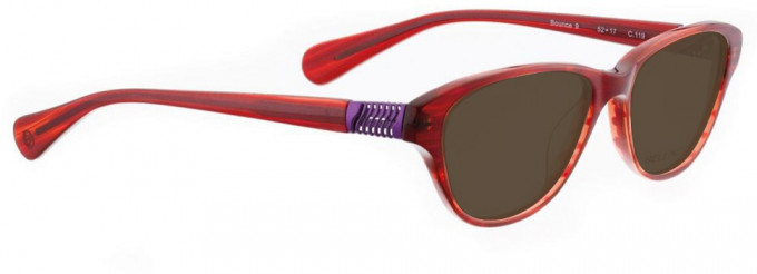 Bellinger BOUNCE-9-119 Sunglasses in Red