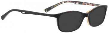Bellinger EASY-980 Sunglasses in Matt Black/Multi Color