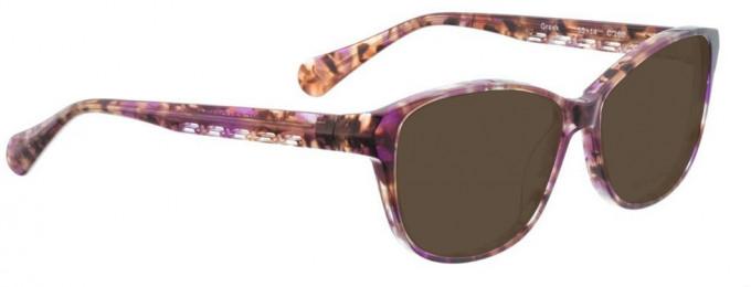 Bellinger GREEK-260 Sunglasses in Brown Pattern