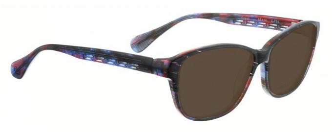 Bellinger GREEK-734 Sunglasses in Black Pattern