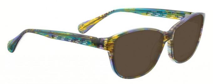 Bellinger GREEK-439 Sunglasses in Green Pattern