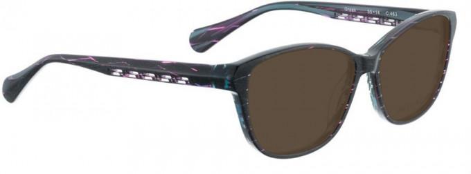 Bellinger GREEK-463 Sunglasses in Blue Grey Combination