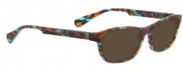 Bellinger PIT-1-238 Sunglasses in Brown/Blue Pattern