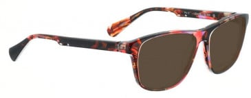 Bellinger PIT-2-160 Sunglasses in Red Pattern
