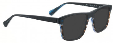 Bellinger PIT-4-402 Sunglasses in Matt Blue/Brown Pattern