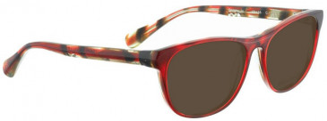 Bellinger SAMMYJO-170 Sunglasses in Red Pattern