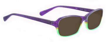 Bellinger STAR-633 Sunglasses in Matt Purple/Green