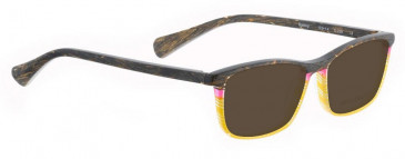 Bellinger SUNTOP-239 Sunglasses in Brown/Yellow