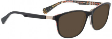 Bellinger TRICAB-980 Sunglasses in Matt Black/Multi Color
