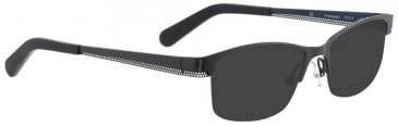 Bellinger CHAMPAGNE-7941 Sunglasses in Dark Grey