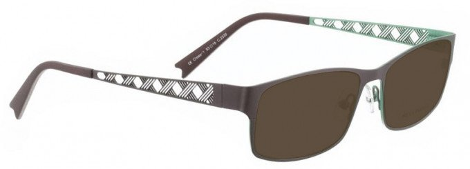 Bellinger CROSS-1-2335 Sunglasses in Brown