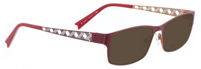 Bellinger CROSS-1-1956 Sunglasses in Red