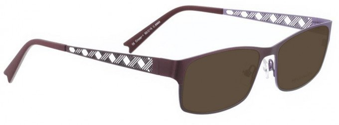 Bellinger CROSS-1-6960 Sunglasses in Aubergine
