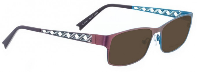 Bellinger CROSS-1-6549 Sunglasses in Metallic Purple