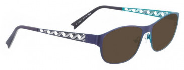 Bellinger CROSS-2-6248 Sunglasses in Purple