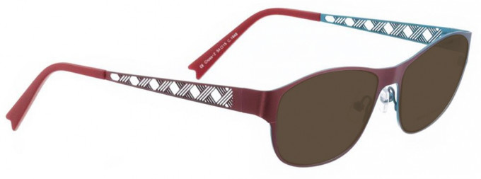 Bellinger CROSS-2-1948 Sunglasses in Red