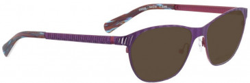 Bellinger DONNA-6469 Sunglasses in Purple