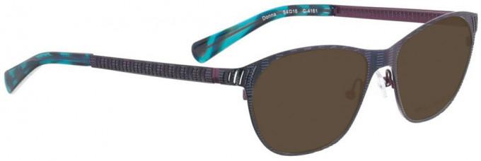 Bellinger DONNA-4161 Sunglasses in Blue