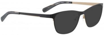 Bellinger GOLDLINE-2-9097 Sunglasses in Black/Matt Gold