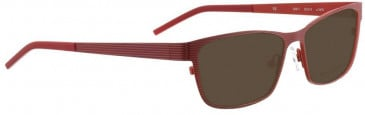 Bellinger GRILL-1-1816 Sunglasses in Shiny Red