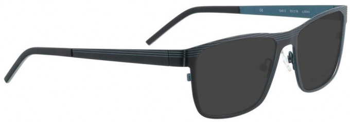 Bellinger GRILL-2-9044 Sunglasses in Black