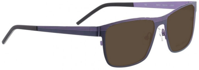Bellinger GRILL-2-6260 Sunglasses in Purple
