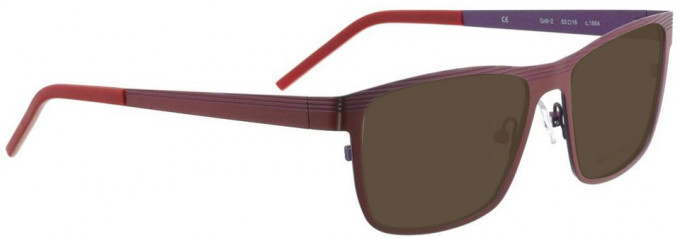 Bellinger GRILL-2-1864 Sunglasses in Shiny Red