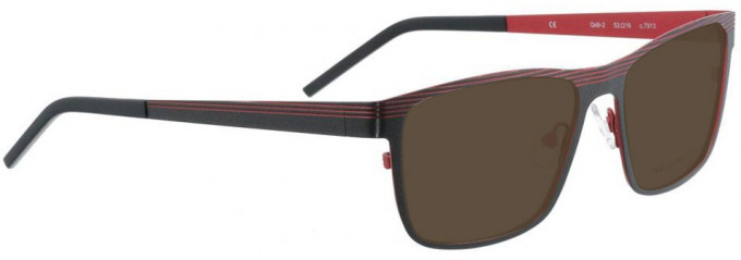 Bellinger GRILL-2-7913 Sunglasses in Dark Grey