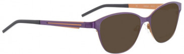 Bellinger JETSTREAM-6948 Sunglasses in Aubergine