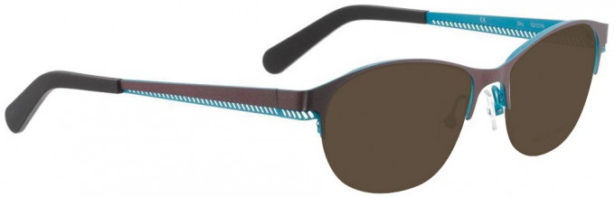 Bellinger SKY-6848 Sunglasses in Shiny Aubergine Purple