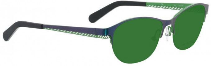 Bellinger SKY-4137 Sunglasses in Metallic Blue