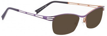 Bellinger TRIPLE-6056 Sunglasses in Purple Pearl