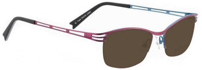 Bellinger TRIPLE-6343 Sunglasses in Light Cherry Pearl