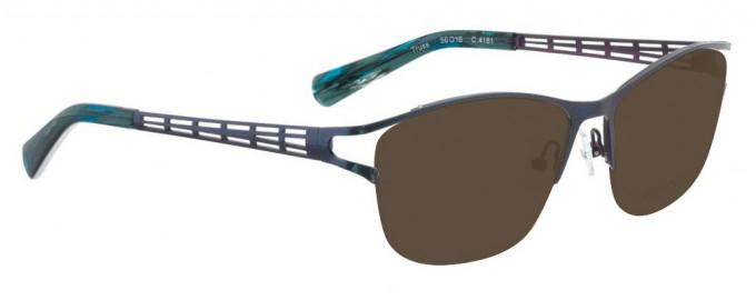 Bellinger TRUSS-4161 Sunglasses in Metallic Blue/Purple