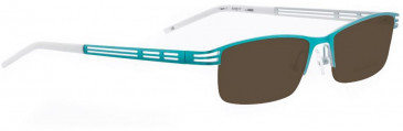Bellinger TWIN-1-4898 Sunglasses in Turquoise