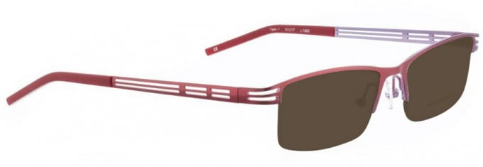 Bellinger TWIN-1-1860 Sunglasses in Shiny Red