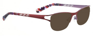 Bellinger ZEUS-2869 Sunglasses in Brown/Purple