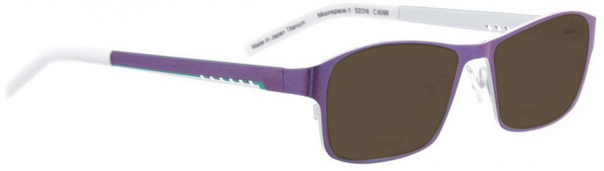 Bellinger MOONSPACE-1-6098 Sunglasses in Purple Pearl