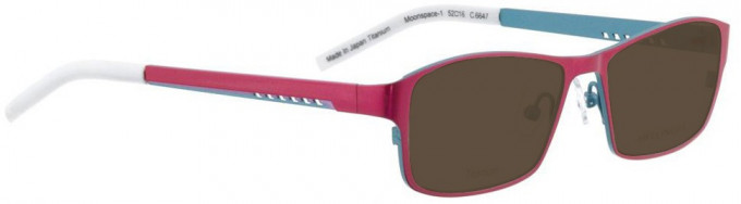 Bellinger MOONSPACE-1-6647 Sunglasses in Pink Pearl