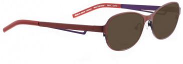 Bellinger NEW RAINBOW-1-4538 Sunglasses in Dark Blue