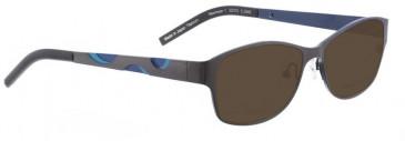 Bellinger NEWMOON-1-6138 Sunglasses in Purple