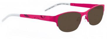 Bellinger NEWMOON-2-9038 Sunglasses in Black