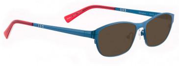 Bellinger SHINYMATT-1-6100 Sunglasses in Purple