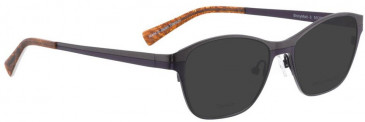 Bellinger SHINYMATT-3-2661 Sunglasses in Brown