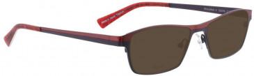 Bellinger SHINYMATT-4-6800 Sunglasses in Purple