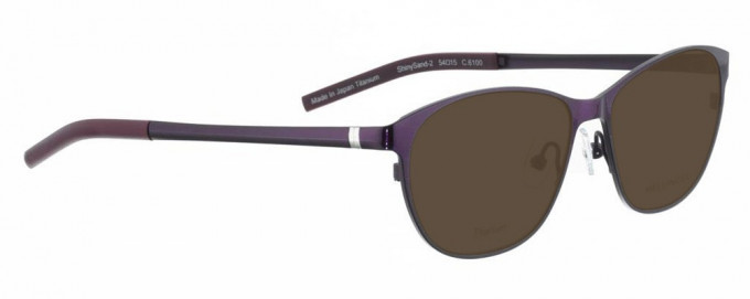 Bellinger SHINYSAND-2-6100 Sunglasses in Purple