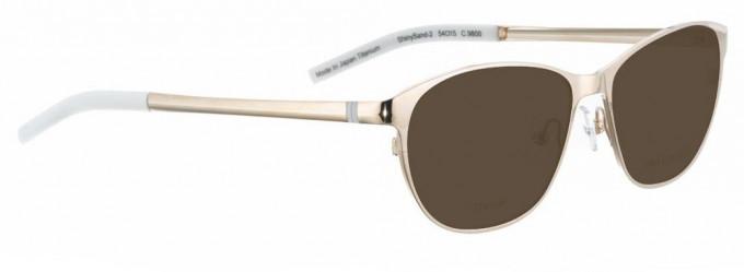 Bellinger SHINYSAND-2-9800 Sunglasses in Gold