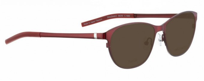 Bellinger SHINYSAND-2-1000 Sunglasses in Red